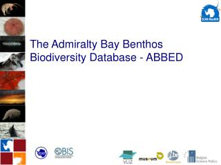 The Admiralty Bay Benthos Biodiversity Database - ABBED