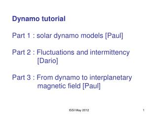 The solar magnetic cycle