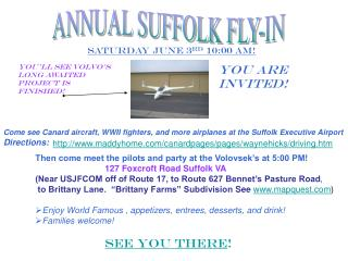 ANNUAL SUFFOLK FLY-IN