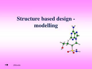 Structure based design - modelling