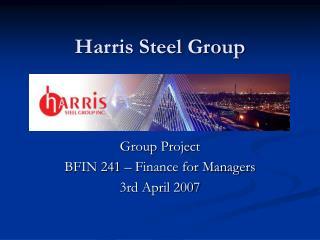 Harris Steel Group