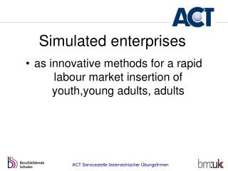 Simulated enterprises