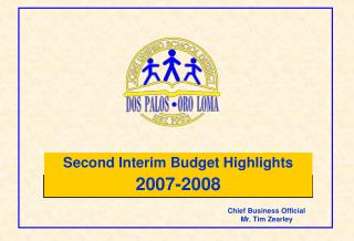 Second Interim Budget Highlights 2007-2008