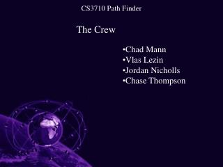 CS3710 Path Finder