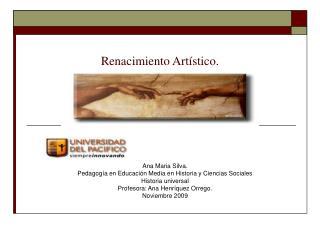 Renacimiento Artístico.