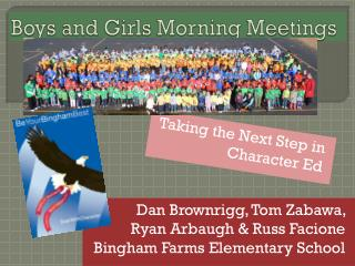 Boys and Girls Morning Meetings