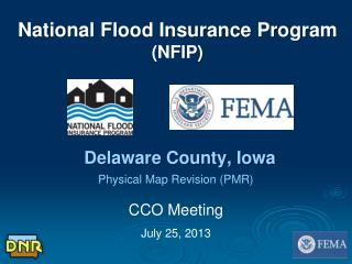 National Flood Insurance Program (NFIP)  Delaware County, Iowa