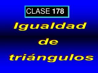 CLASE 178