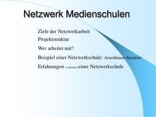 Netzwerk Medienschulen