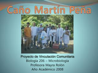 Ca ño Martín Peña