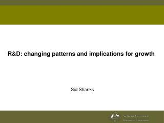 R&D: changing patterns and implications for growth
