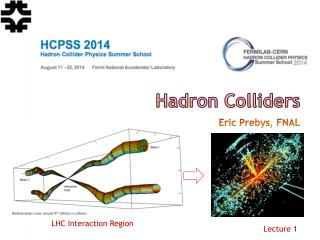 Hadron Colliders