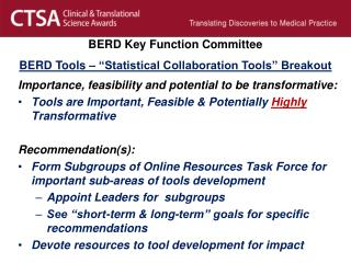 Importance, feasibility and potential to be transformative: