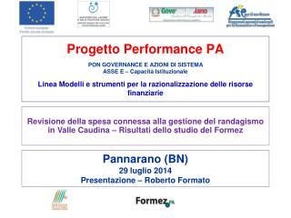 Pannarano (BN) 29 luglio 2014 Presentazione – Roberto Formato