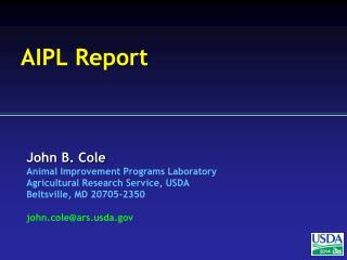 AIPL Report