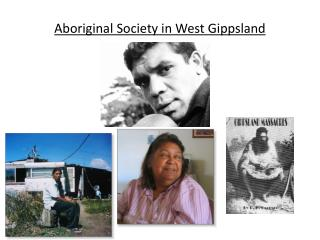 Aboriginal Society in West Gippsland