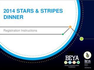 2014 Stars & Stripes Dinner