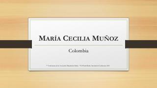 María Cecilia Muñoz