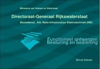 Bouwdienst,  Afd. Natte Infrastructuur Elektrotechniek (NIE)