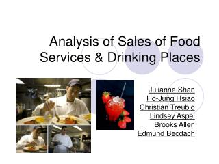 Analysis of Sales of Food Services & Drinking Places