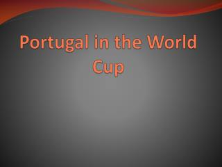 Portugal in the World Cup