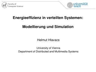 Energieeffizienz in verteilten Systemen: Modellierung und Simulation