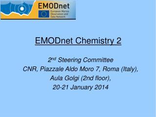 EMODnet Chemistry 2