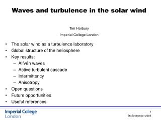 Waves and turbulence in the solar wind