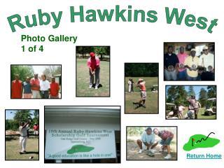 Ruby Hawkins West