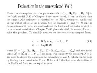 The max log likellihood function is simply a function of the error covariance matrix