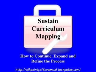 Sustain Curriculum  Mapping