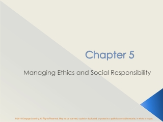 Business Case for Social Responsibility