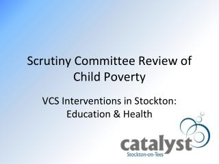Scrutiny Committee Review of Child Poverty
