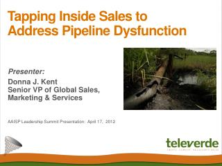 Tapping Inside Sales to Address Pipeline Dysfunction