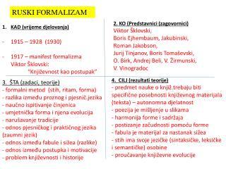 RUSKI FORMALIZAM