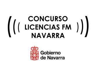 CONCURSO LICENCIAS FM NAVARRA