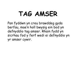 TAG AMSER