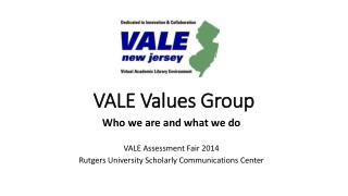 VALE Values Group