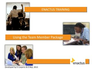 ENACTUS  TRAINING