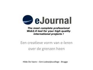 Een creatieve vorm van  e-leren over de grenzen heen