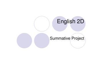 English 2D