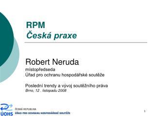 RPM Česká praxe