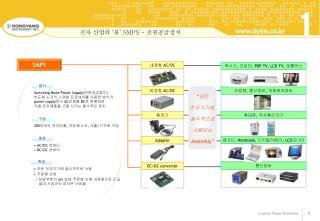 전자 산업의  ' 불 ' SMPS -  전원공급장치