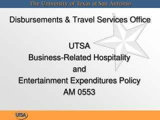 Disbursements & Travel Services Office