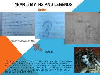 Year 5 myths and legends