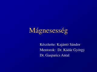 M�gnesess�g