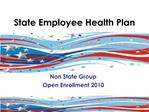 State Employee Health Plan