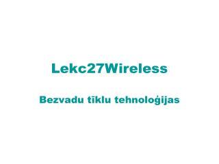 Lekc27Wireless