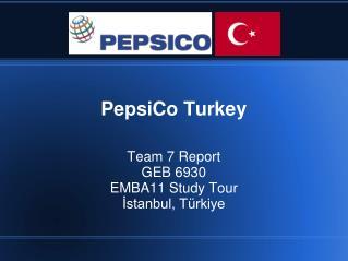 PepsiCo Turkey