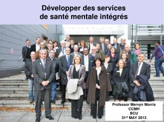 Développer des services  de santé mentale intégrés